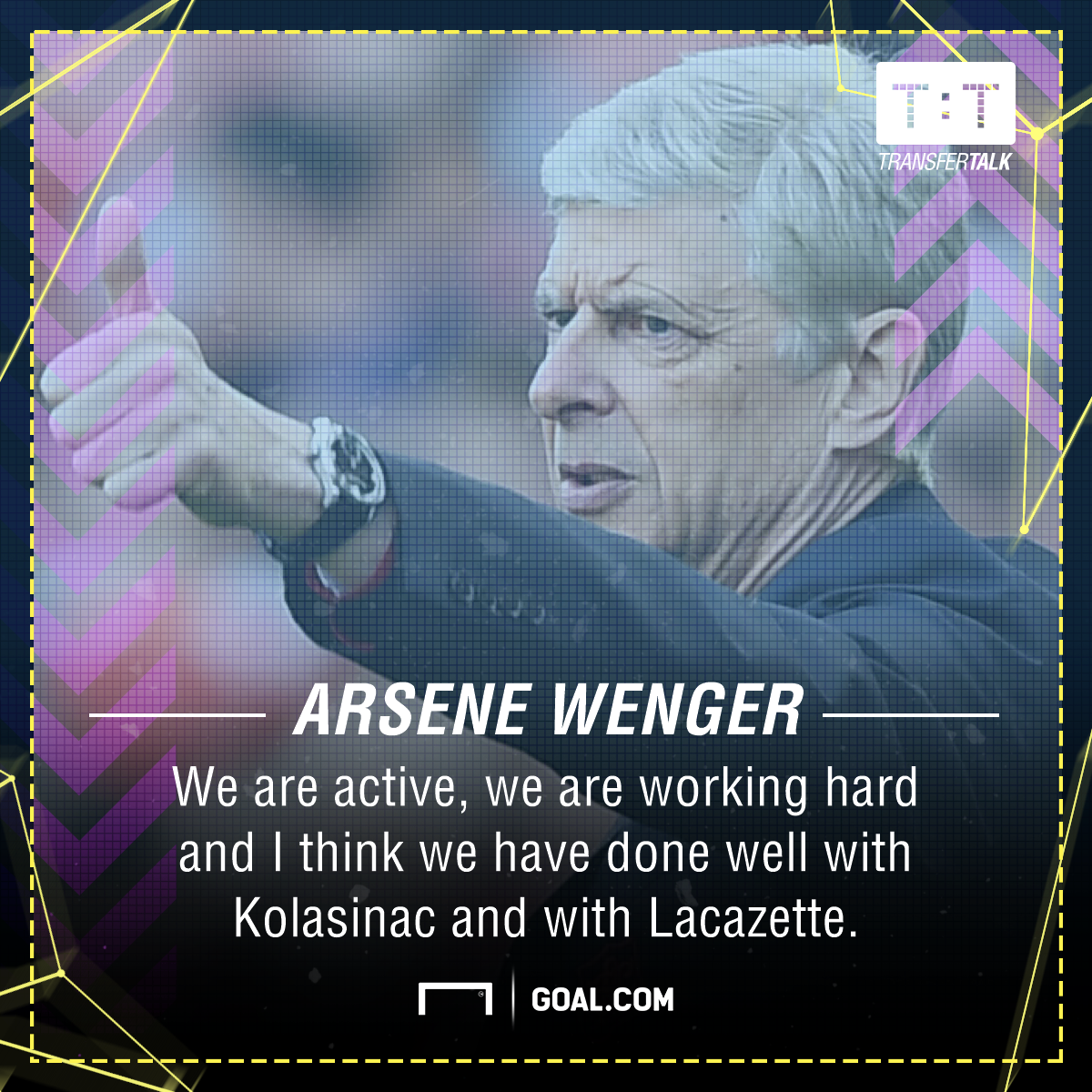 Arsene Wenger Arsenal transfers