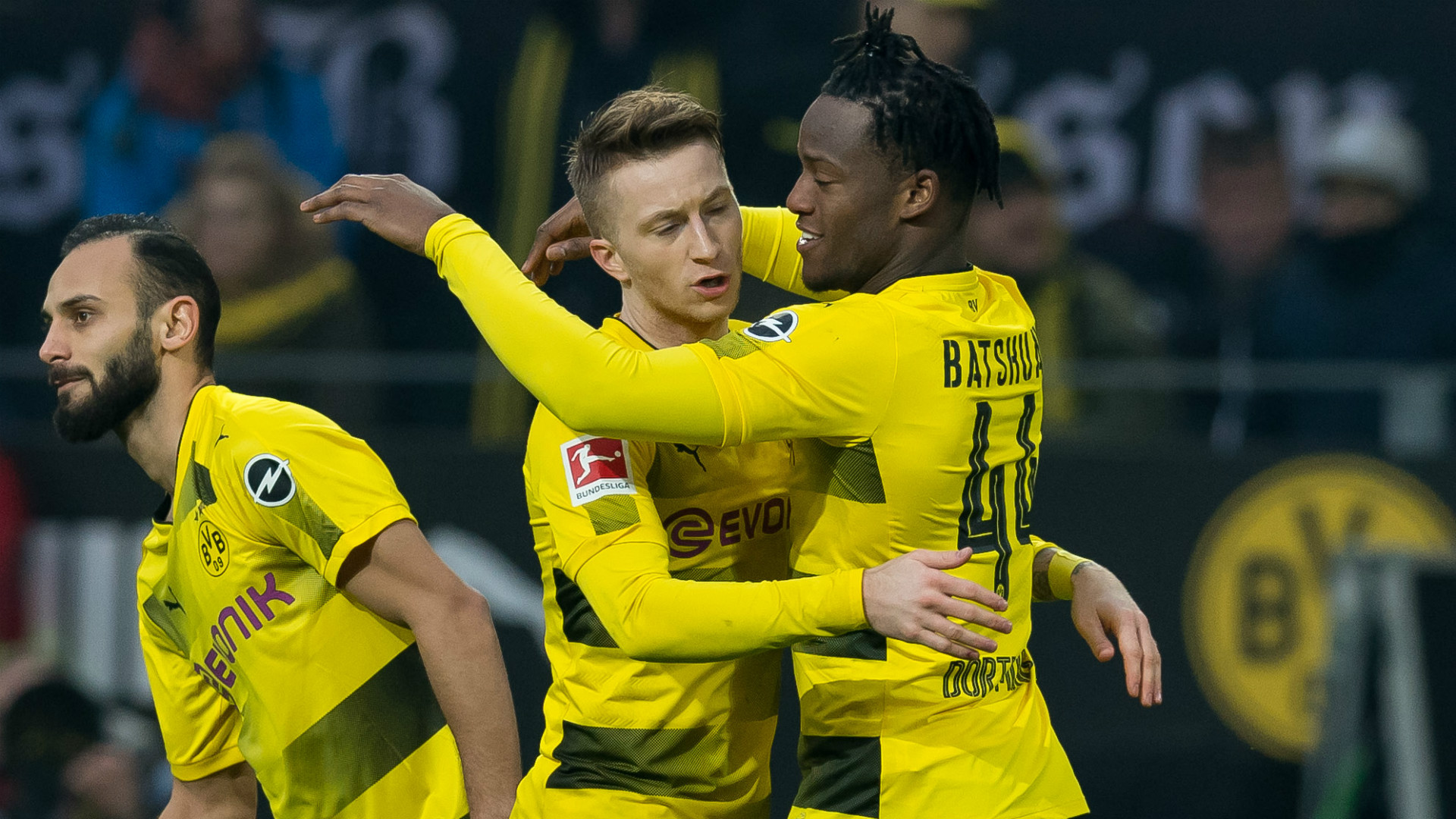 Marco Reus Michy Batshuayi Borussia Dortmund