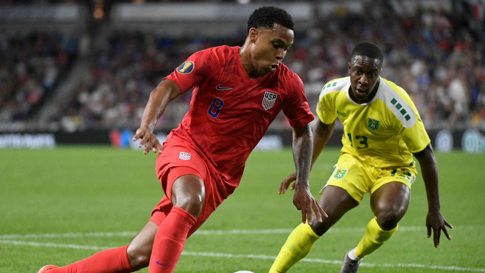 Weston McKennie USA USMNT Gold Cup 2019