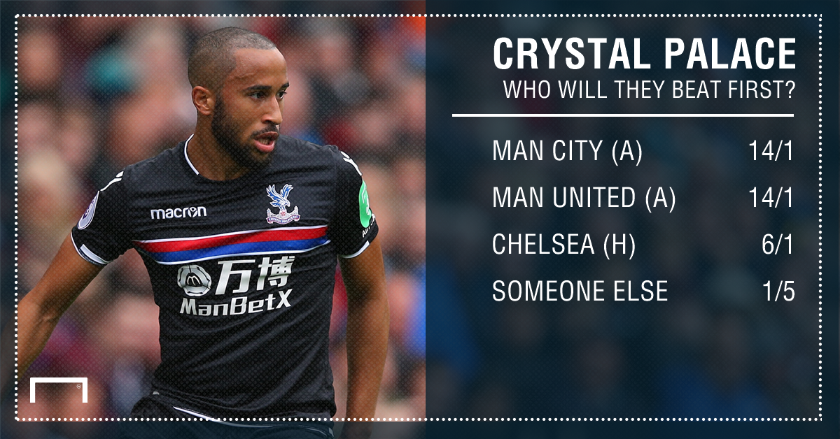 Crystal Palace first win graphic