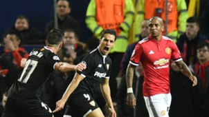 Wissam Ben Yedder Ashley Young Sevilla Man Utd 13032018