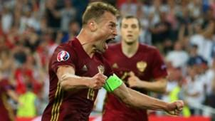 Vasili Berezutski Russia Euro 2016