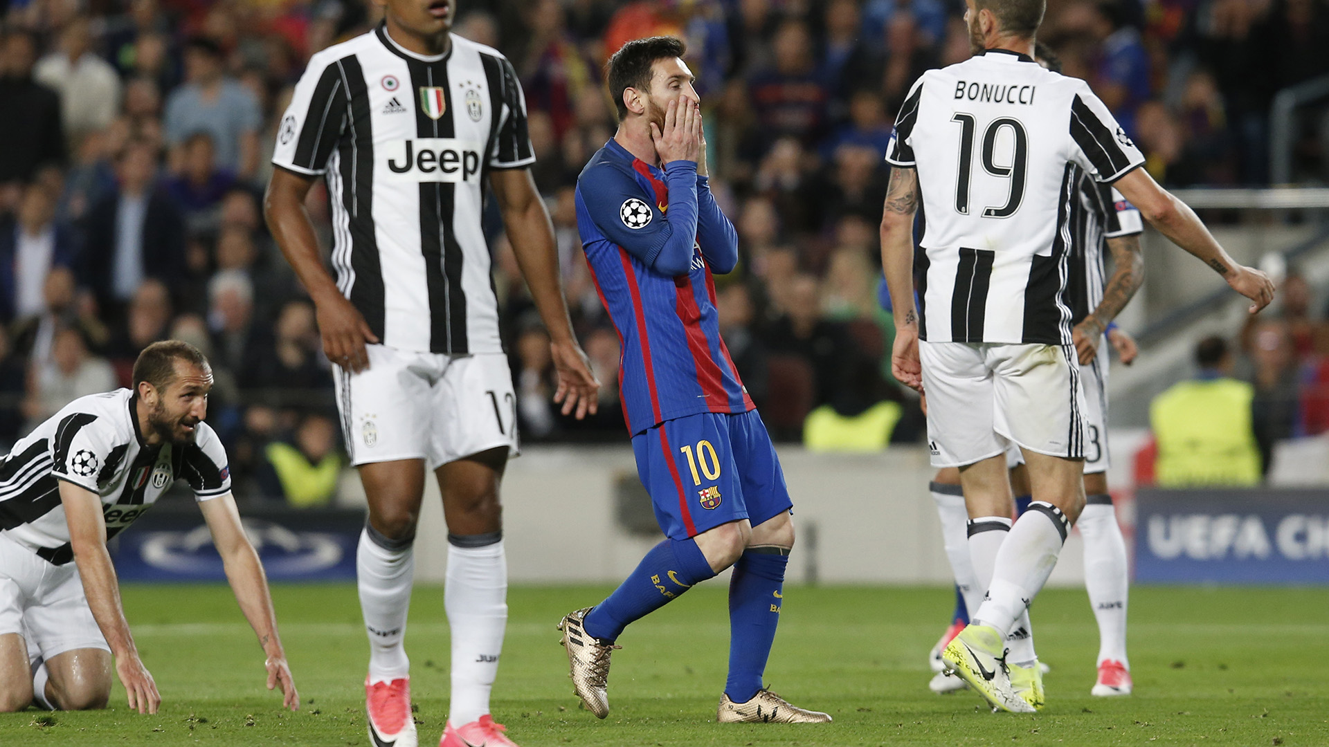 Leo Messi Barcelona Juventus Champions League