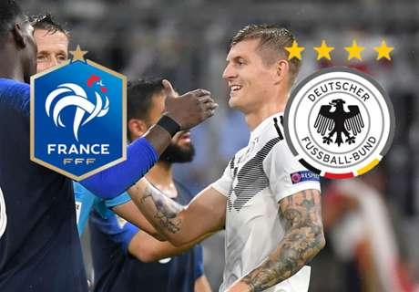 Frankreich vs. Deutschland: Alle Infos zur Übertragung