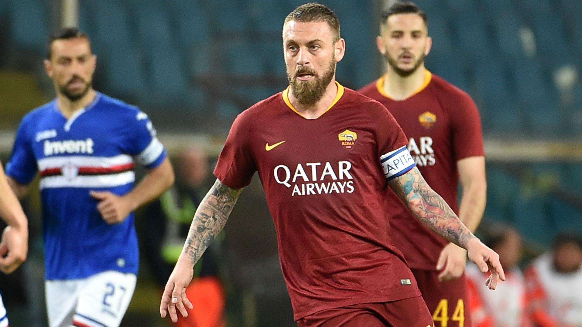 De Rossi Roma Sampdoria Serie A