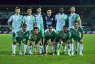 Melaka United's first XI against Sarawak 18/2/2017