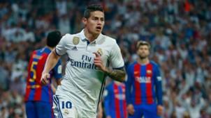 James Rodriguez Real Madrid La Liga