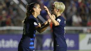 Alex Morgan Megan Rapinoe United States