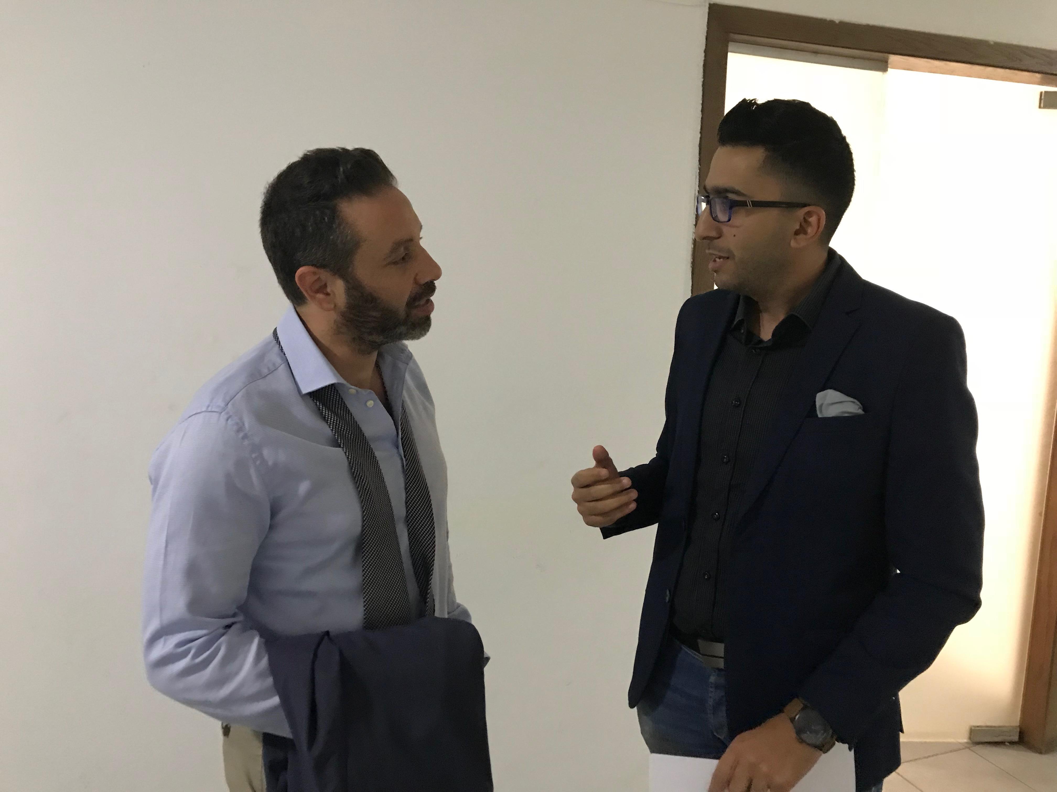 أحمد عطا وحازم إمام