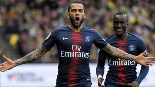 Daniel Alves Nantes PSG Ligue 1 17042019