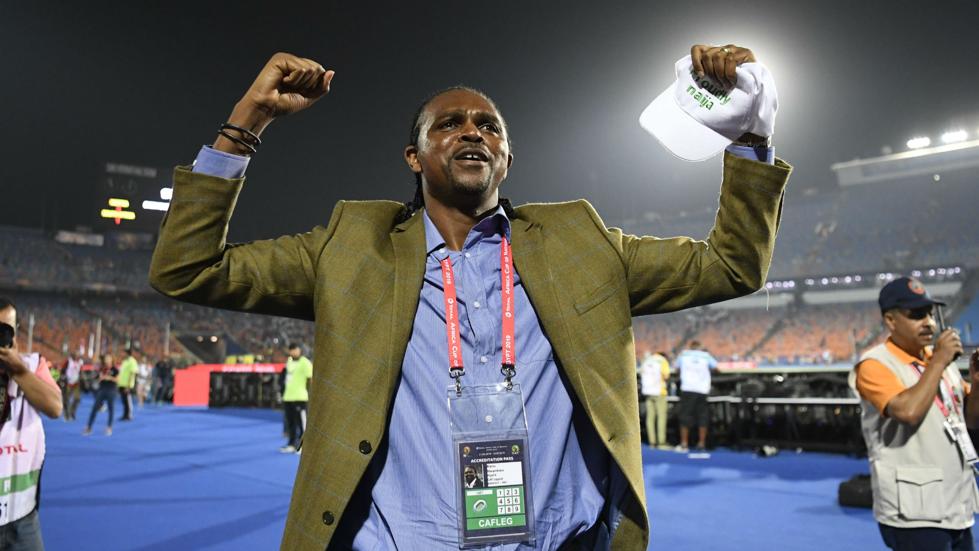 An AFCON semifinal and the Nigerian billionaires' promise of a windfall