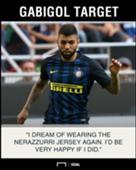 Gabigol Inter dream