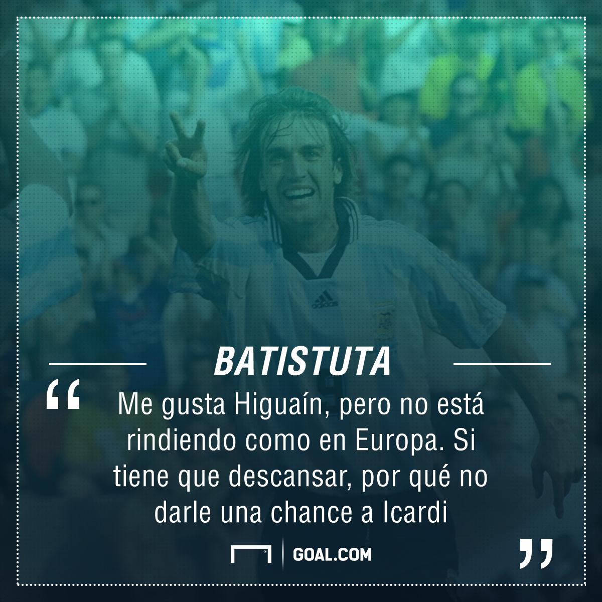 PS Gabriel Batistuta Seleccion Argentina