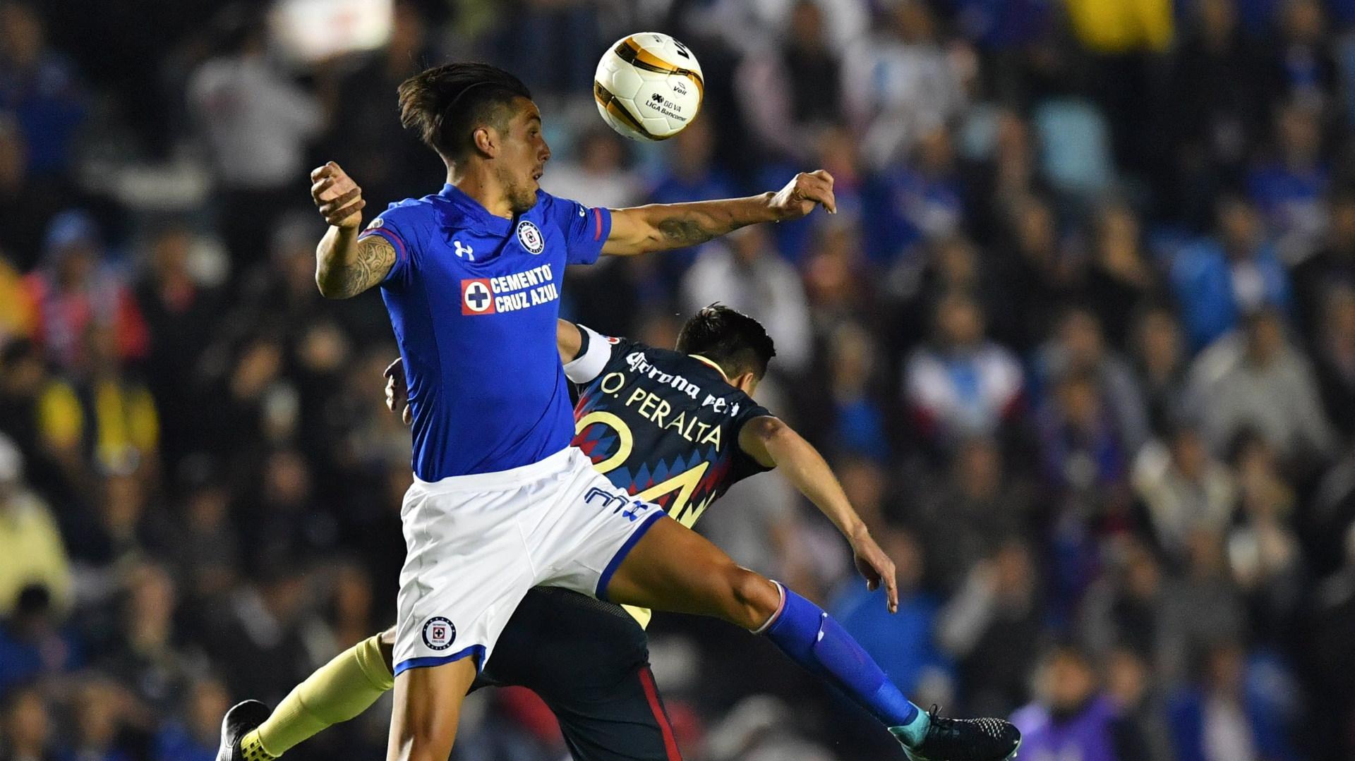 Enzo Roco Cruz Azul Oribe Peralta Club America