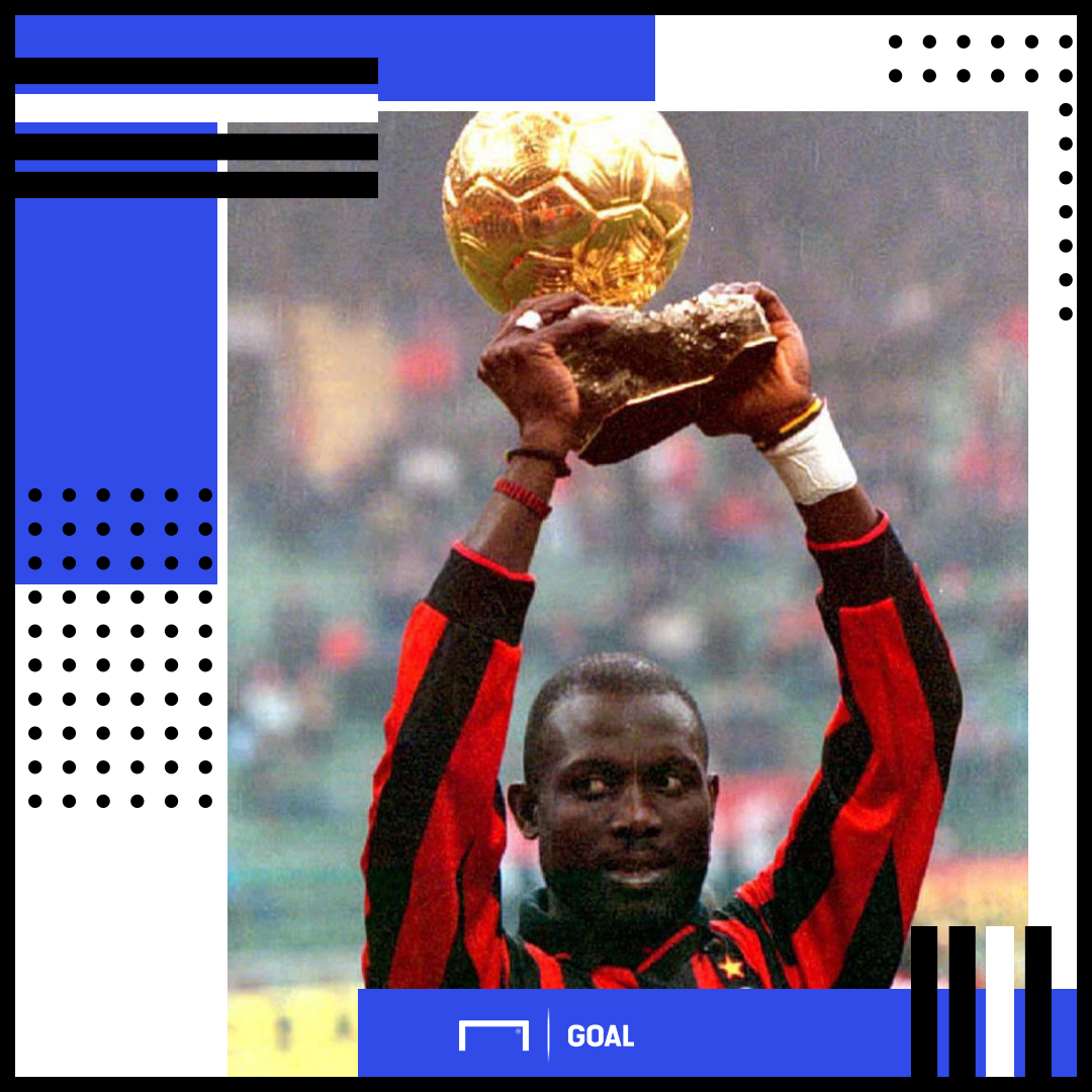 George Weah Ballon d'Or PS