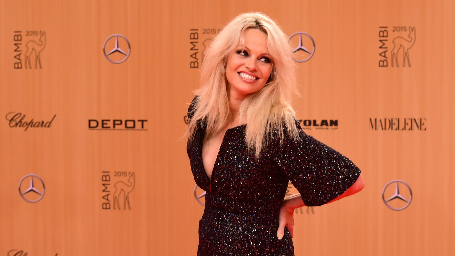 Pamela Anderson ha lasciato Adil Rami: