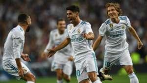 Marco Asensio Carvajal Modric Real Madrid Barcelona Supercopa 16082017