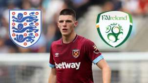 Declan Rice West Ham England Ireland