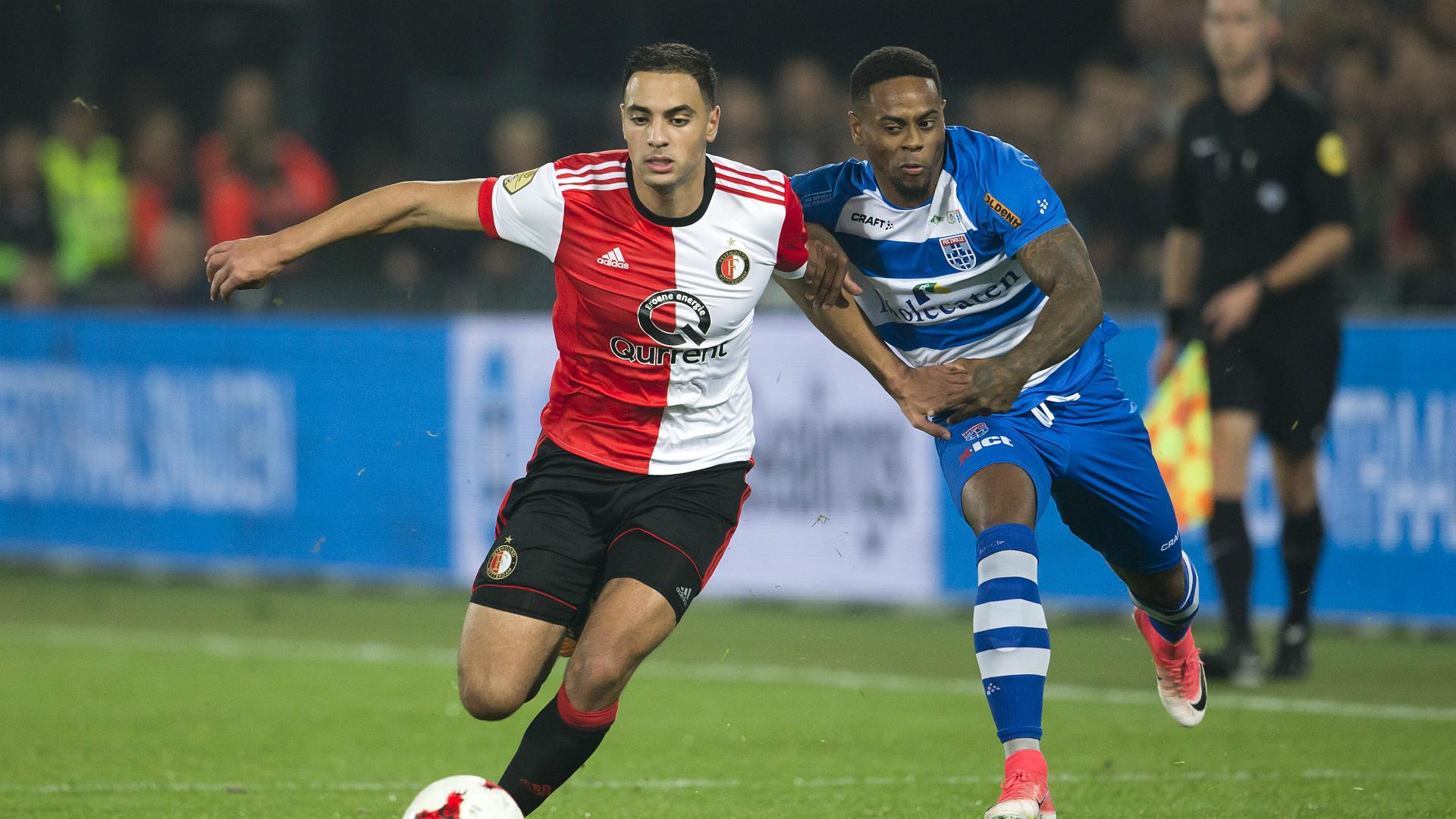 Sofyan Amrabat, Feyenoord - PEC Zwolle, 14102017