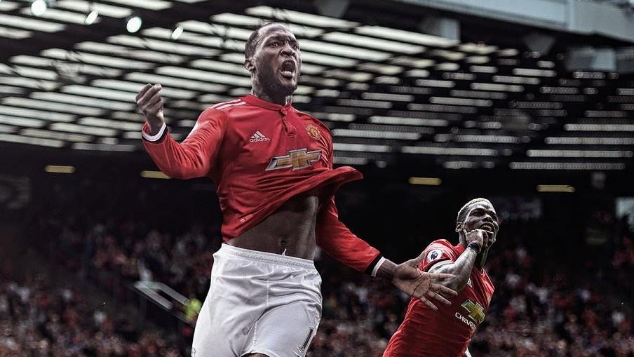 Romelu Lukaku Paul Pogba Manchester United GFX