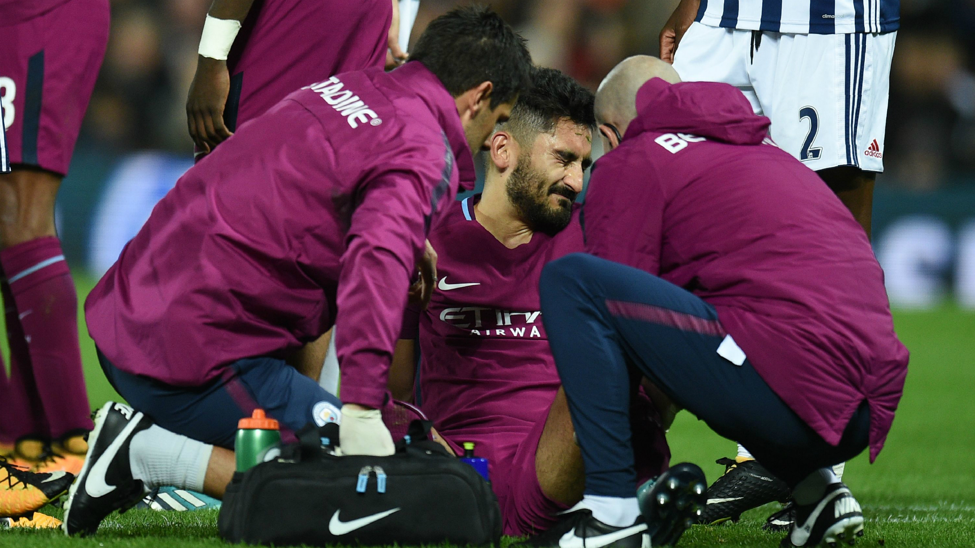 Ilkay Gundogan escapes serious knee injury, Man City confirm