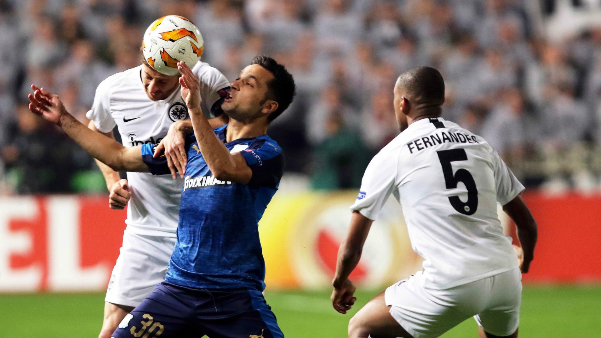 Eintracht Frankfurt Apollon Limassol 08112018