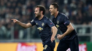 Juan Mata Juventus Manchester United Champions League 07112018