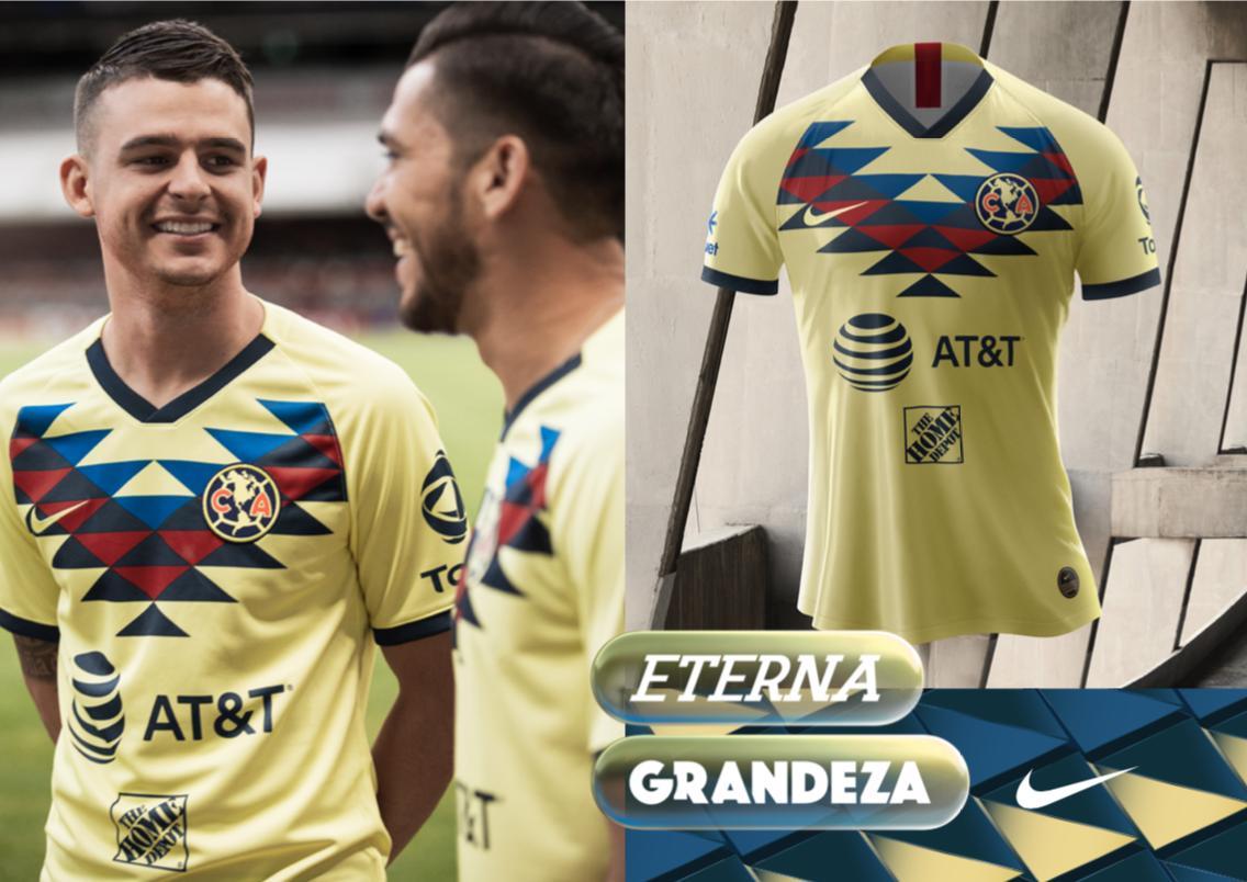 Playera América Apertura 2019