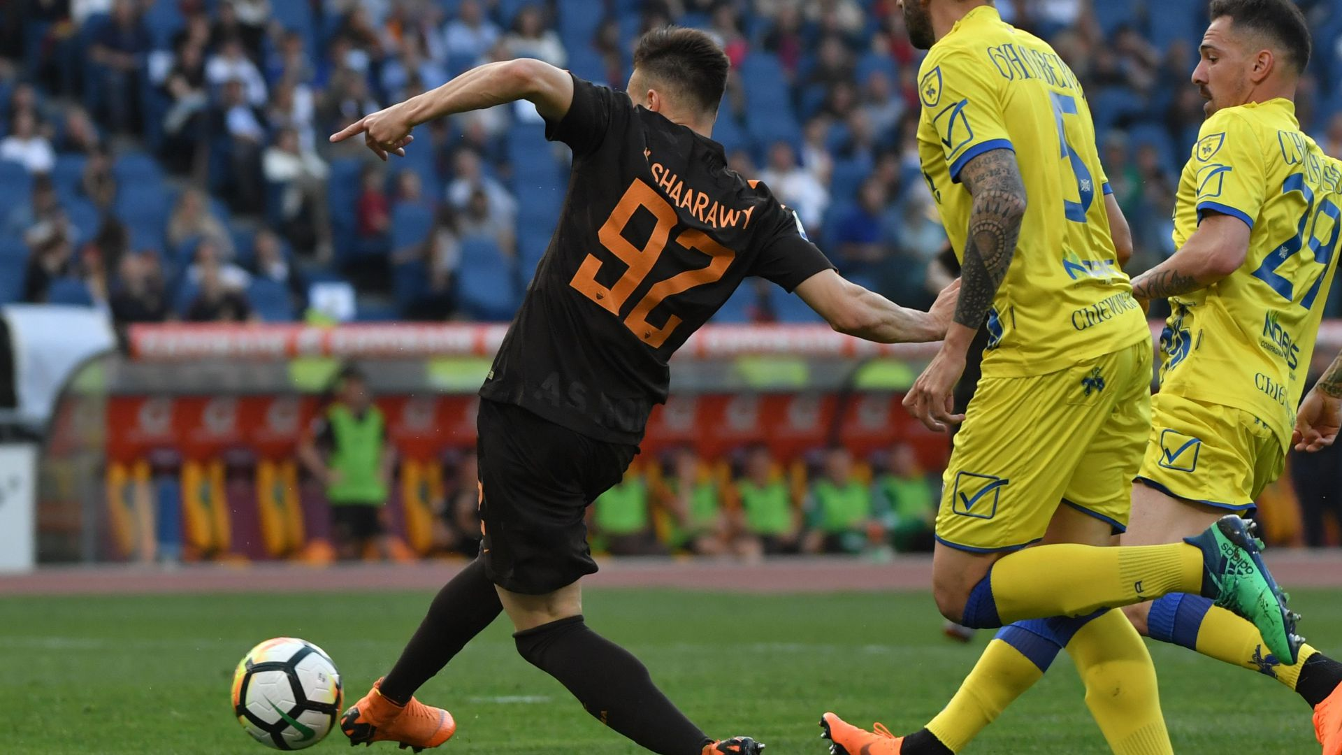 Stephan El Shaarawy Roma Chievo Serie A