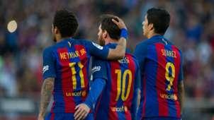 Messi, Suárez, Neymar