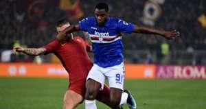 Duvan Zapata Roma Sampdoria Serie A