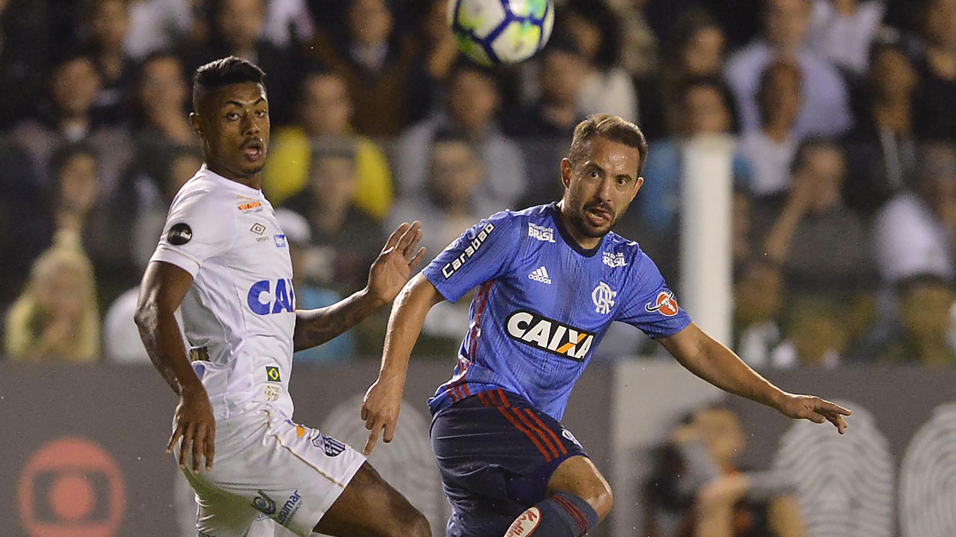 Bruno Henrique Everton Ribeiro Santos Flamengo Brasileirao Serie A 25072018