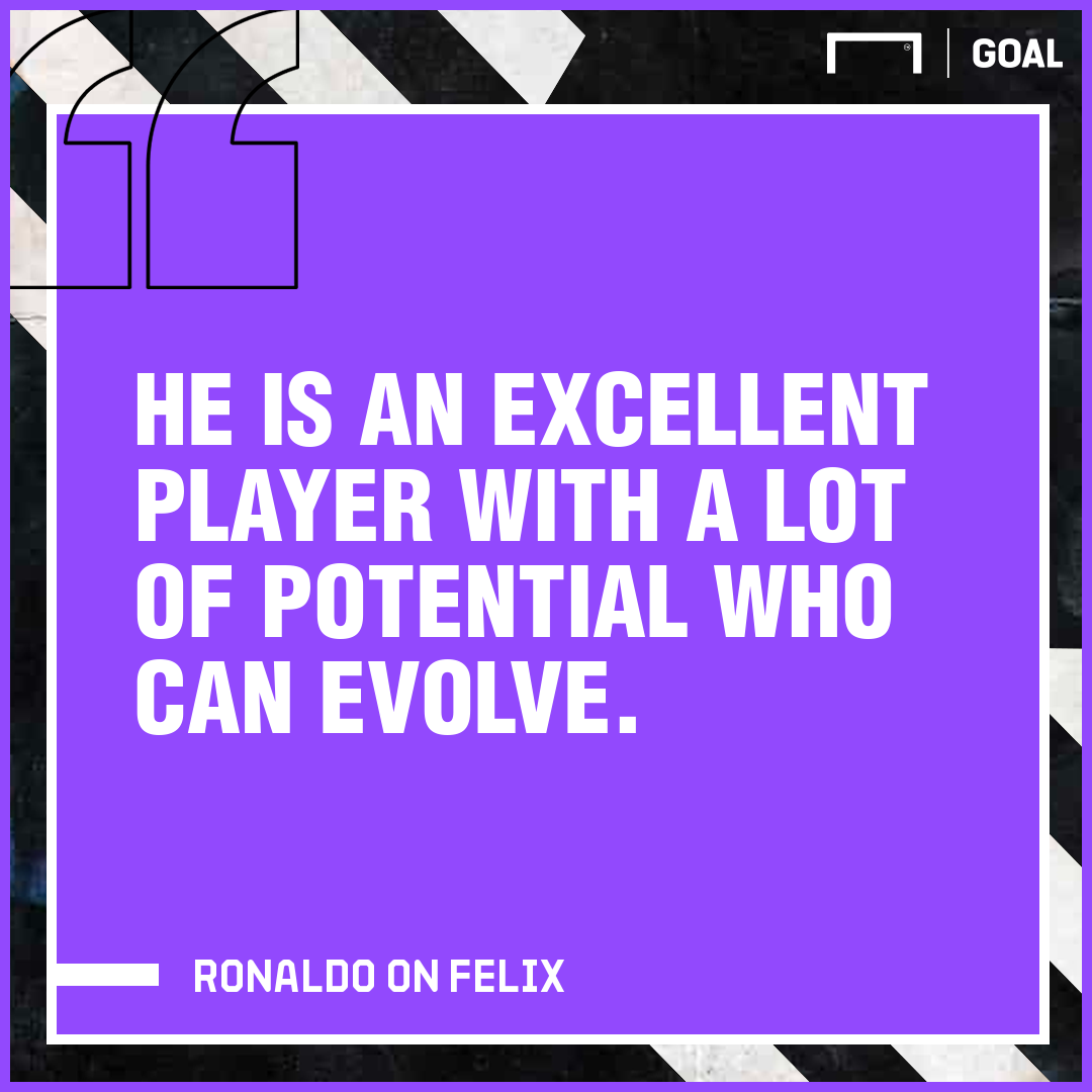 Ronaldo on Felix