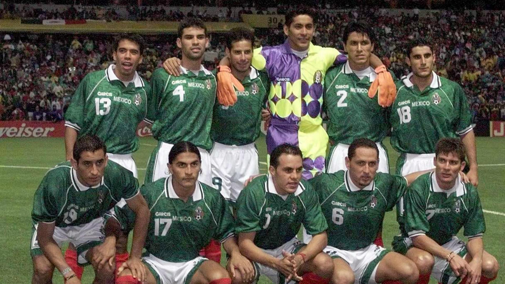 Rafa Márquez México 1999