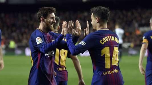 Coutinho Messi Valencia Barcelona Copa del Rey 08022018