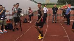 Neymar PSG treino China 02 08 18