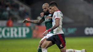 Lucas Paqueta Felipe Melo Palmeiras Flamengo Brasileirao Serie A 13062018