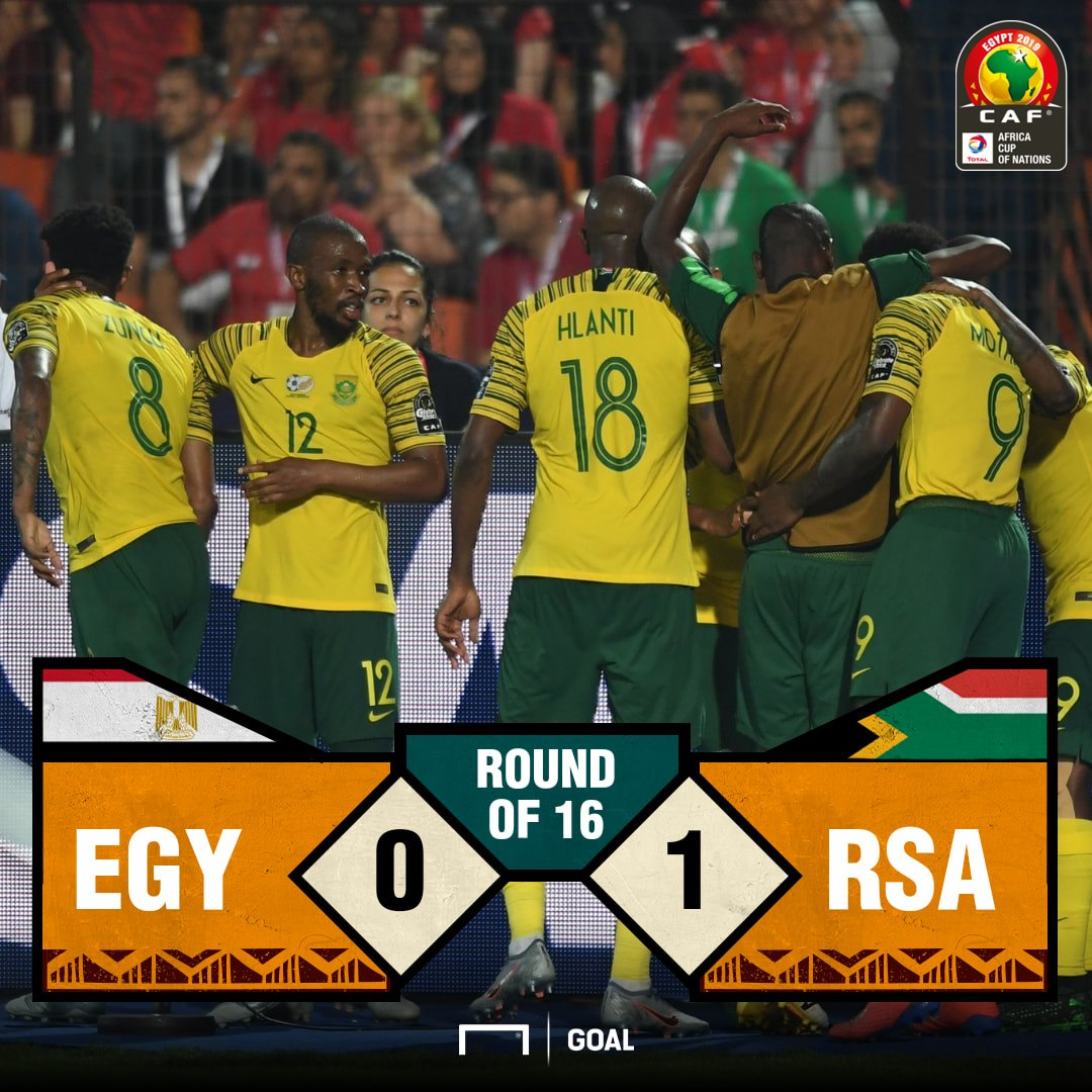South Africa Egypt score PS