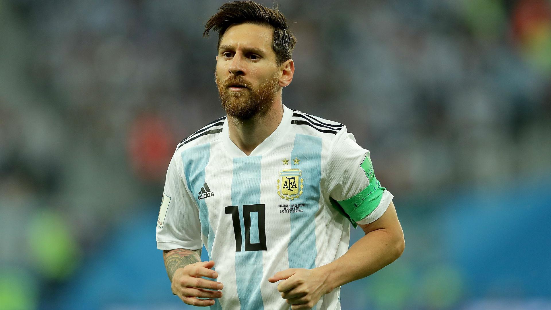 Lionel Messi Argentina Nigeria Copa do Mundo 2018 26062018