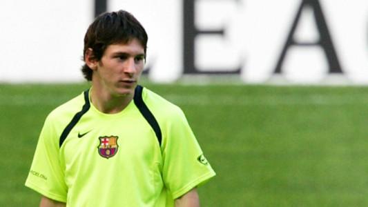Lionel Messi Barcelona 2005