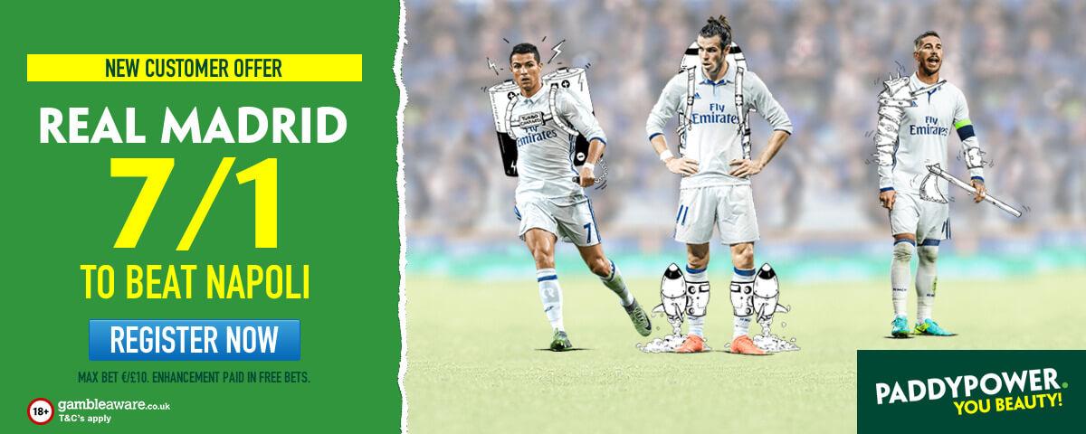 PP ENHANCED REAL MADRID 7/1