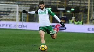 Domenico Berardi Bologna Sassuolo Serie A 02182018