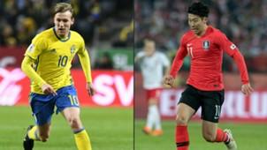 Forsberg Son Sweden Korea