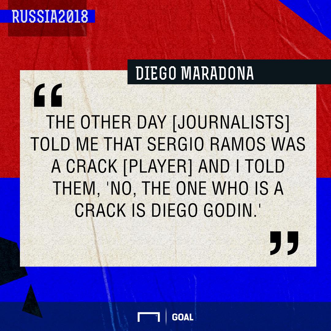 Diego Maradona Ramos Godin PS