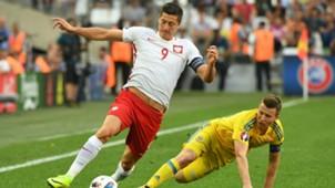 Lewandowski Ukraine Poland Euro 2016 06212016