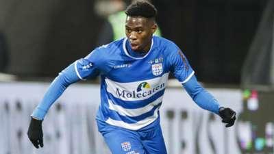 Kingsley Ehizibue PEC Zwolle 12182018