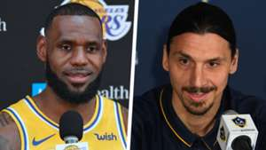 LeBron James Zlatan Ibrahimovic Split
