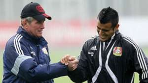 Heynckes y Vidal en Bayer Leverkusen