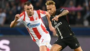 Neymar Nenad Krsticic PSG Red Star Belgrad UEFA Champions League 03102018
