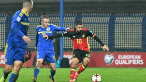 Bosnia Belgium WC Qualification Hazard Visca